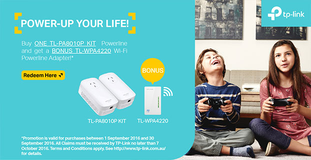 TP-Link Power-Up Your Life! Promotion!