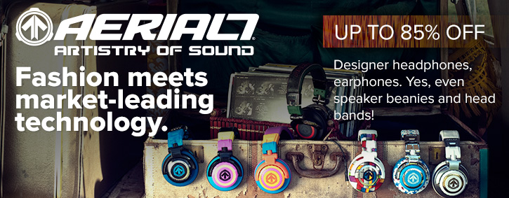 Aerial7 Headphones Sale Banner