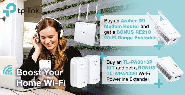 TP-Link Boost Your Home Wi-Fi Promo