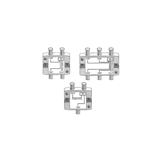 st3210pp 2 way 10db  u0026 39 f u0026 39  tap    splitter - radio parts