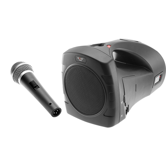 PM55B PORTABLE SOUND SYSTEM W/ WIRED MIC