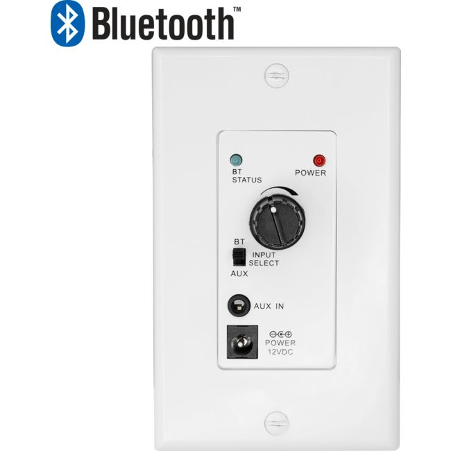 Pro1351wp Audio Amplifier Wall Plate With Bluetooth Pro2