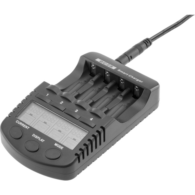 BC2S NI-MH/CD 4X AA/AAA CHARGER BATTERY CHARGER WITH USB PORT