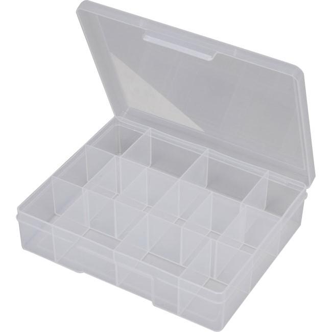 Fischer Plastic 1h039 14 Compartment Storage Box Medium