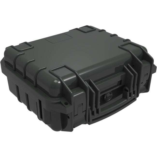 FS288B 288x260x130MM WATERPROOF BLACK PLASTIC CASE