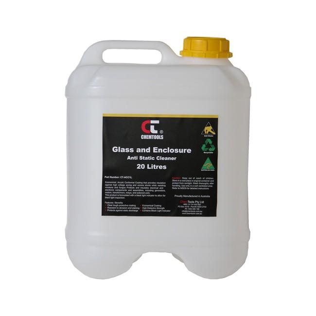 Anti Static Glass : Chemtools asc l anti static glass cleaner drum