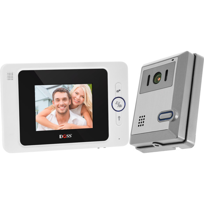 DHF42PC 4″ HANDSFREE VIDEO INTERCOM