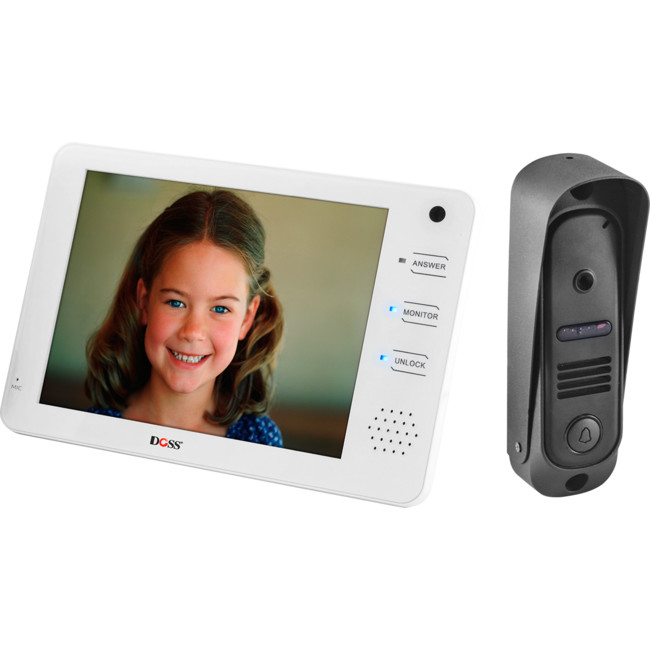 DHF72C 7″ VIDEO HANDS FREE INTERCOM WITH CMOS CAMERA CAM2C+2M MAX