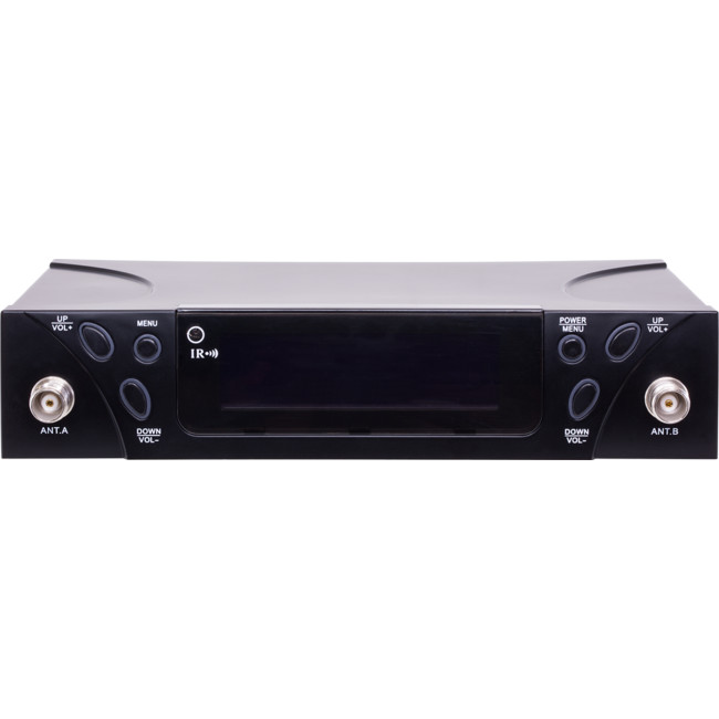 UHF203E DUAL CH PLL UHF WIRELESS MIC SYSTEM