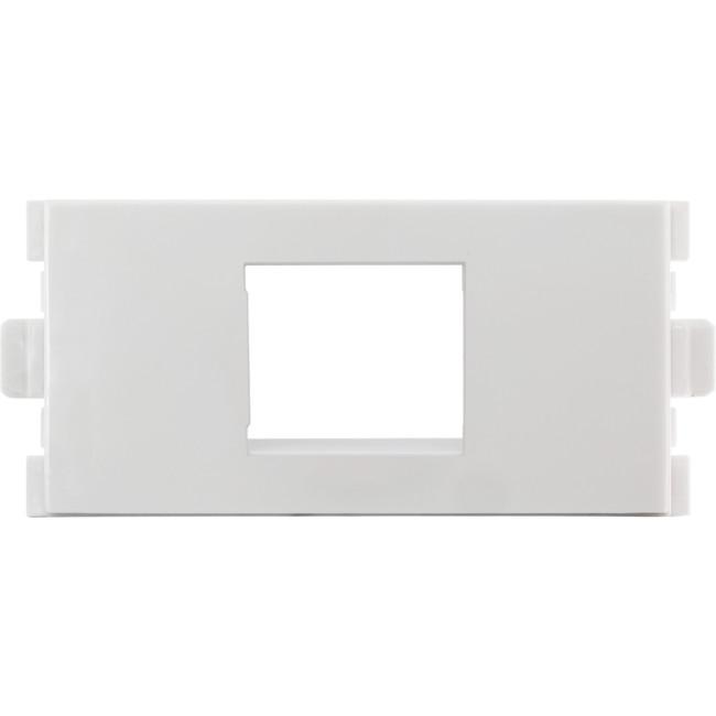 MWI13KS Modular Wall Plate Empty Keystone Insert