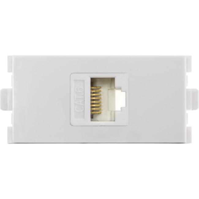 MWI13C6M Modular Wall Plate CAT6 Insert