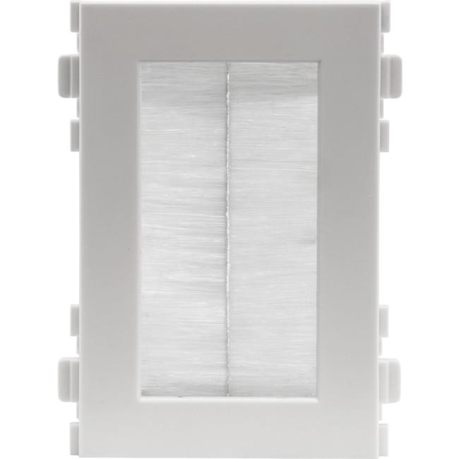 MWI13BR Modular Wall Plate Brush Insert