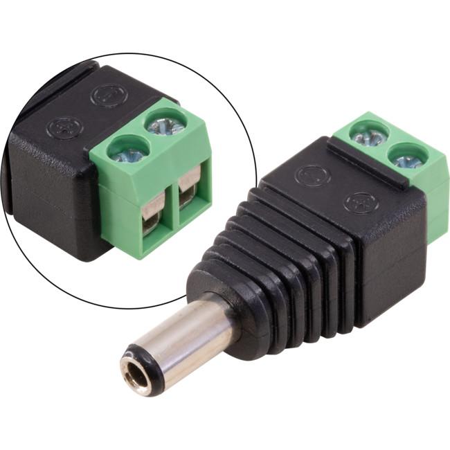 PW8082 – 2.5MM DC PLUG SCREW TERMINATING
