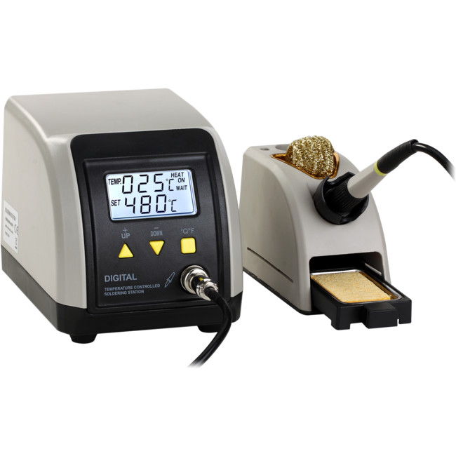 ZD8916ESD ESD SOLDERING STATION WITH LCD 24V 60W SOLDERING IRON