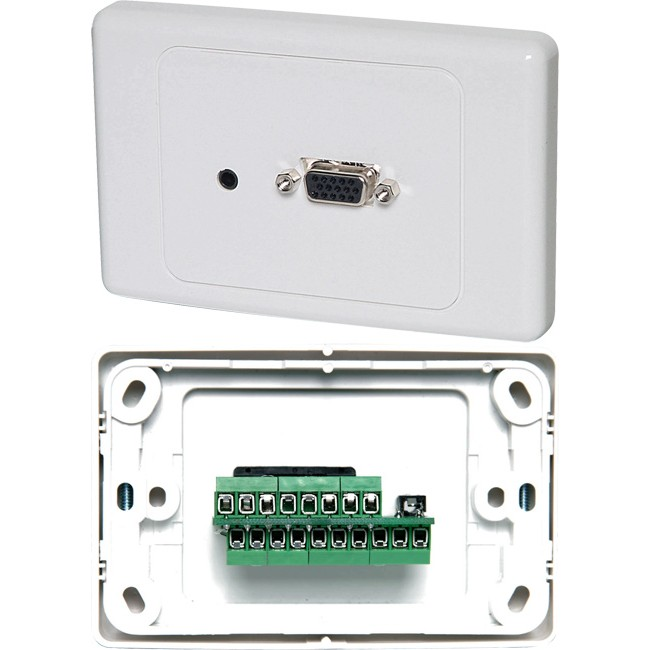 av wall plates australia radio parts electronics components rh radioparts com au HDMI Wall Plate Keystone and VGA Wall Plate