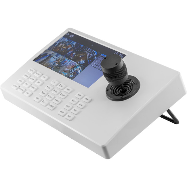 KT401 NETWORK CONTROL KEYBOARD 7″ LCD 3D ROCKER