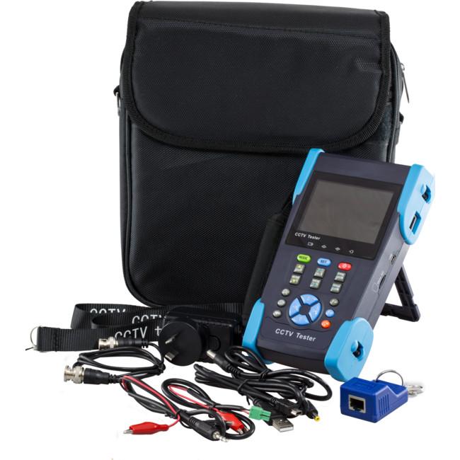D305 3.5″ PTZ CCTV SECURITY TESTER 12V 1A OUTPUT RS485 AUDIO UTP