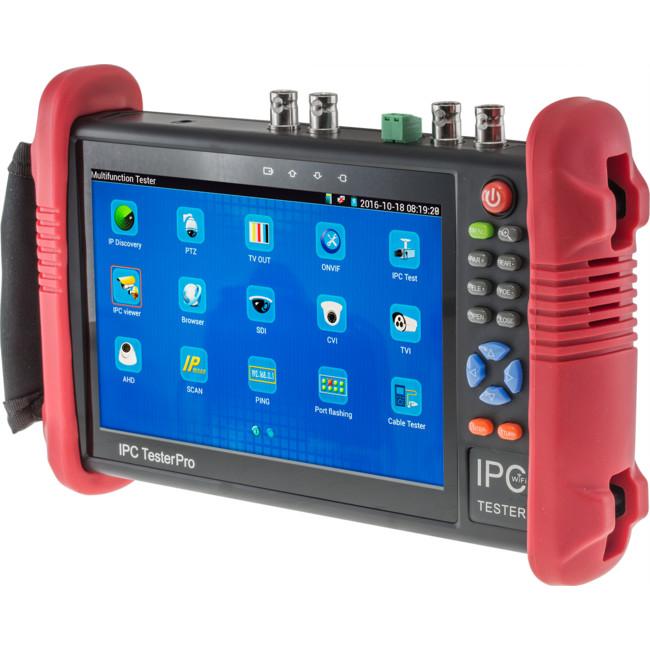 T700A 7″ CCTV TESTER ANALOG, HD CAMERAS, IP CAMERA