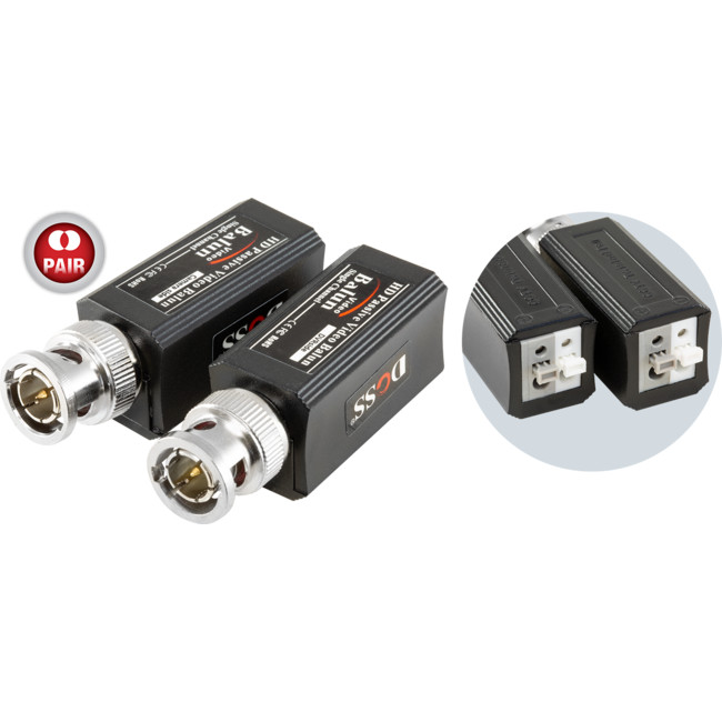 BVB4100PHD – PUSH PIN BNC HD VIDEO BALUN