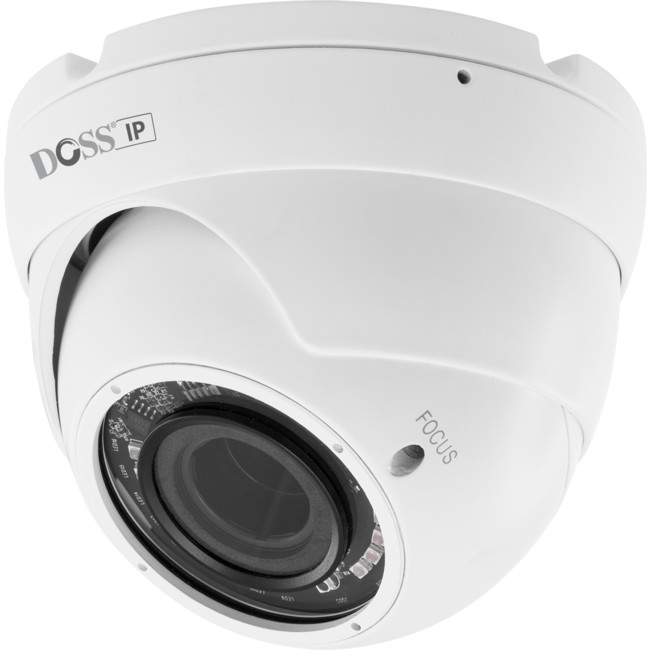 Doss dm30ipw2 dome 30m ir white ip camera 1080p poe 28 12mm lens dm30ipw2 rfb dome 30m ir white ip camera publicscrutiny Gallery