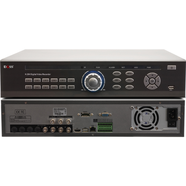 RPDVR4SDI2U 4CH HD-SDI NETWORK DVR