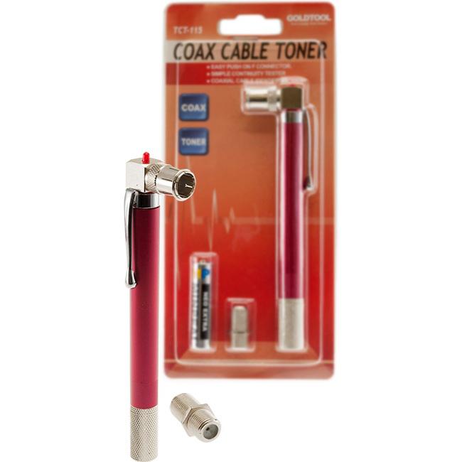 Tct 115 Coax Cable Pocket Pen Toner Continuity Tester