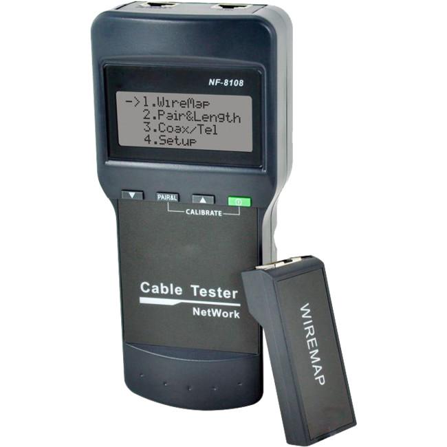 NF8108 RJ45 LAN CABLE TESTER