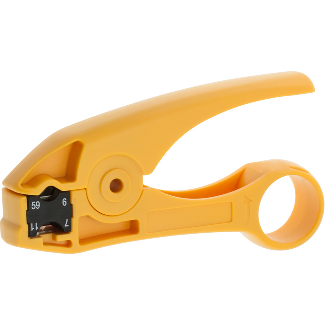 Hanlong Ht351 2 Blade Coaxial Cable Stripper Rg59 6 11 7
