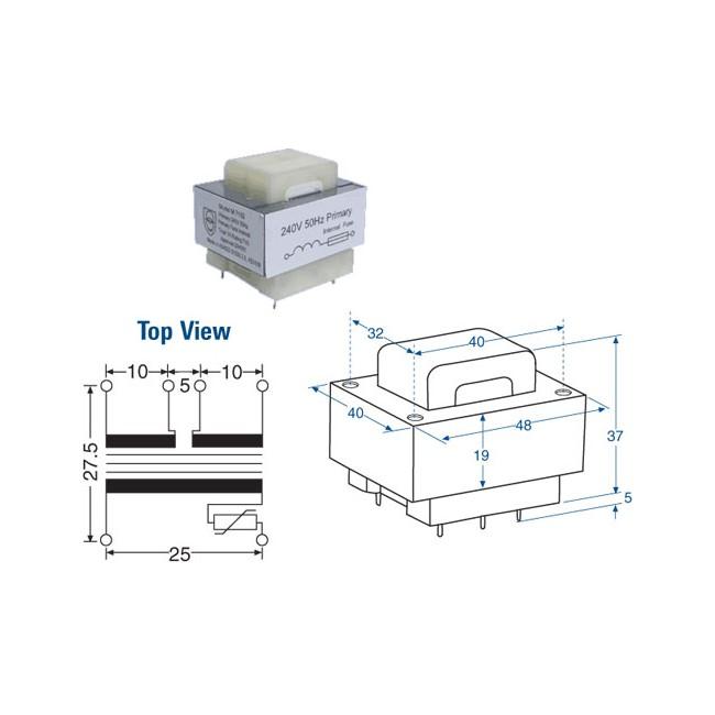24v transformer search results - radio parts