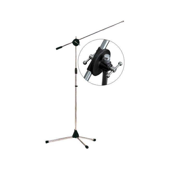 TWO-MICROPHONE-FLOOR-STAND-WITH-82CM-FLOATING-BOOM
