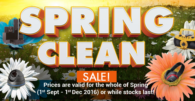 Spring Clean Sale! - Prices are valid for the whole of Spring 