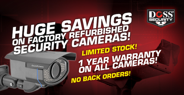 Refurbished security cameras in Melbourne