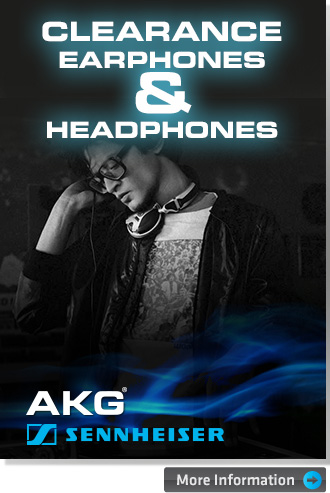 AKG & Sennheiser headphone clearance