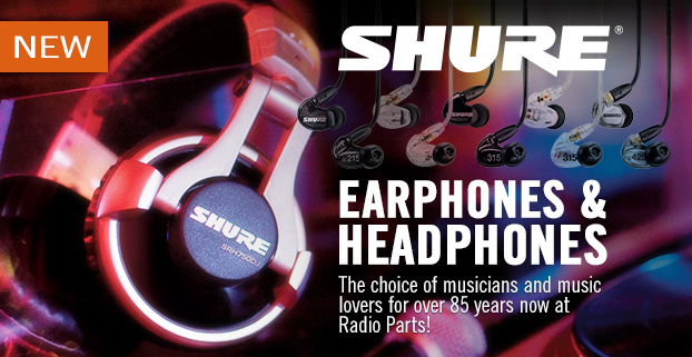 Shure Earphones and Headphones in Melbourne