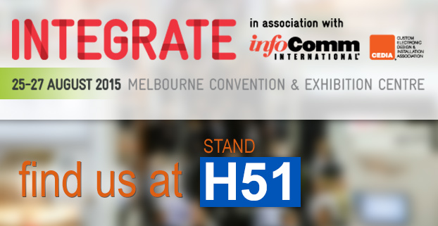 Visit us at the Integrate Expo! Stand H51.