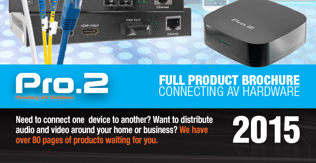 View the Pro2 AV Interconnect brochure