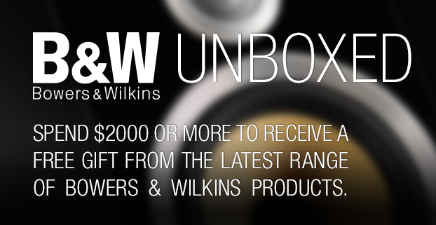 B&W Unboxed Promo banner - Get FREE gifts when you spend over $2000!