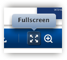 Fullscreen icon