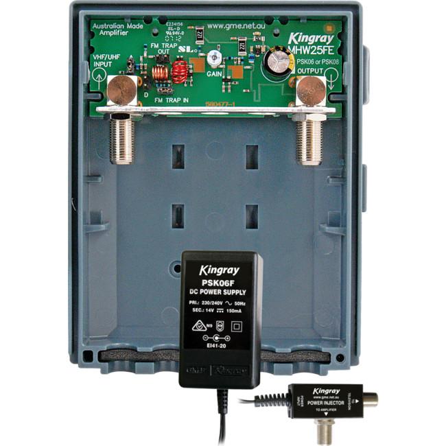 ALCAD AM183IPS MAST AMP WITH INJ  & P/SUPPLY ALCAD ( AM-183