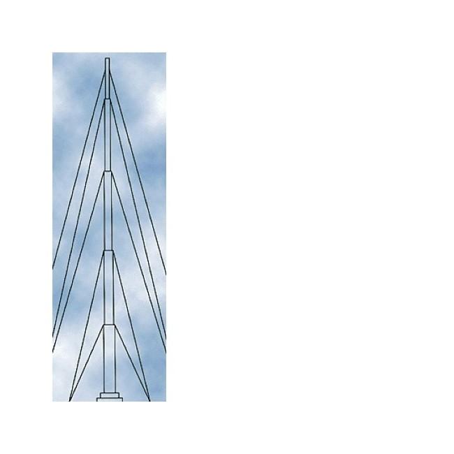 HILLS FC164 12M TELESCOPIC TELEMAST ANTENNA MAST POLE HILLS