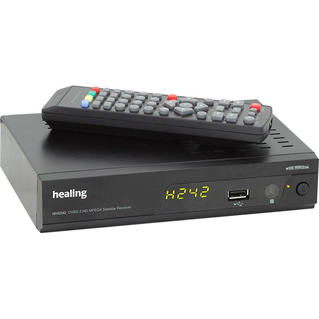 HEALING HHS242 DVB-S2 HD MPEG4 SATELLITE STB TV RECEIVER
