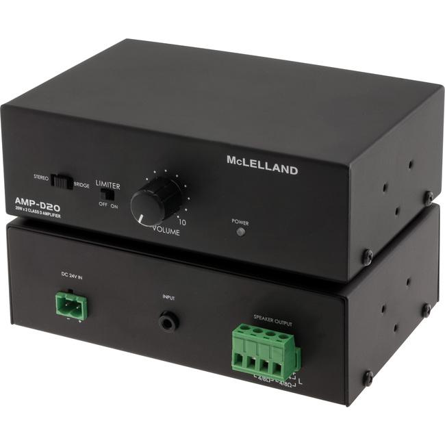 mclelland amp d20 class d power amplifier 20w 20w mclelland ampd20 radio parts electronics. Black Bedroom Furniture Sets. Home Design Ideas