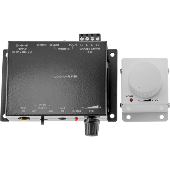PRO2 PRO1328K MIC AND STEREO POWER AMPLIFIER KIT WITH VOLUME