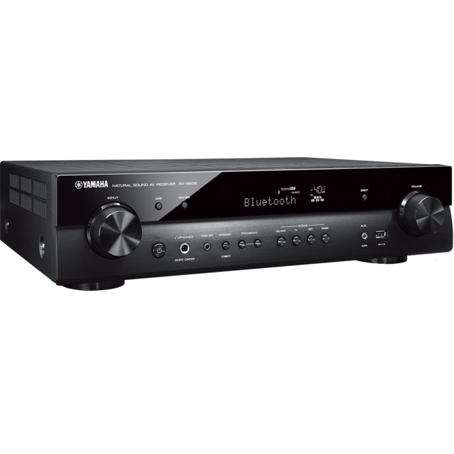 YAMAHA RXS602 5 1CH SLIM NETWORK RECEIVER MUSICCAST WIFI
