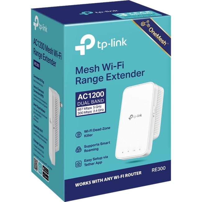 TP-LINK RE300 AC1200 MESH RANGE EXTENDER TP-LINK - Radio
