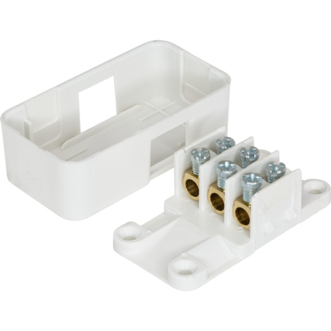 Hpm Cd413 30a Miniature Junction Box Inc 3x Screw