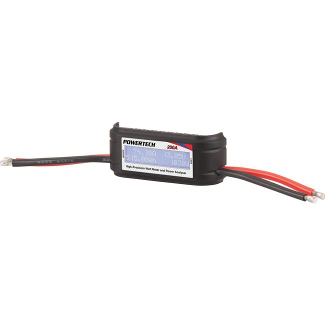POWERTECH MS6190 200A DC POWER METER WITH LCD WATT VOLT AMP - Radio