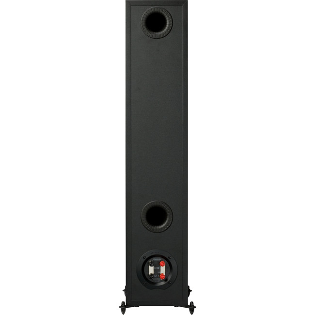 MONITOR200BL Black Floorstanding Speakers Rear view