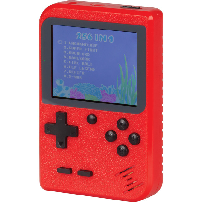 GT4280 Handheld Console 256 Games Red colour