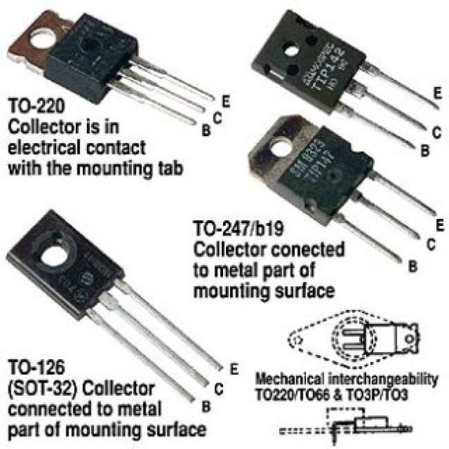 SXLL7460 - TRANSISTORS DARLINGTON - Radio Parts